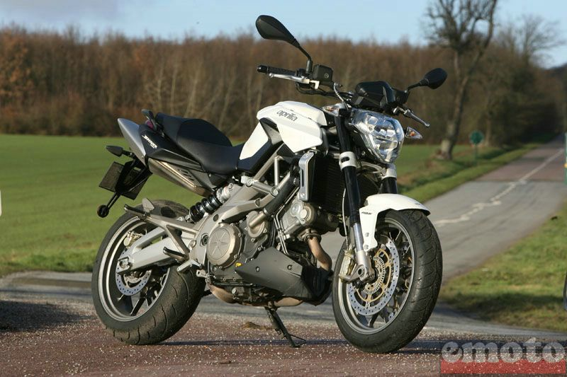 Photo de la Aprilia Shiver ABS modèle 2009