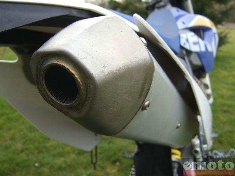Photo de la Husaberg FE450 modèle 2009