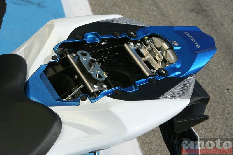 Photo de la Suzuki GSXR 1000 modèle 2009