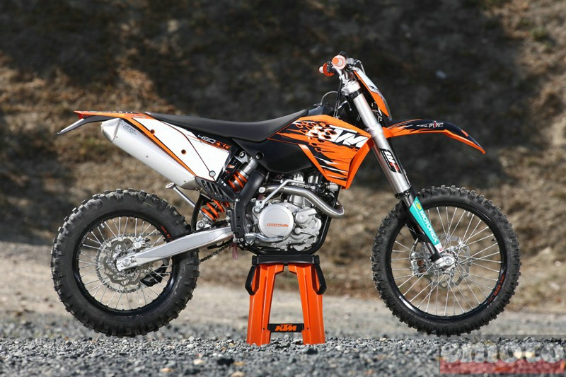 Photo de la KTM EXC 450 modèle 2010