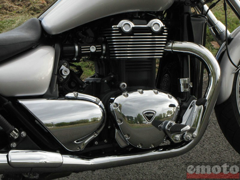 Photo de la Triumph Thunderbird 1600 modèle 2010