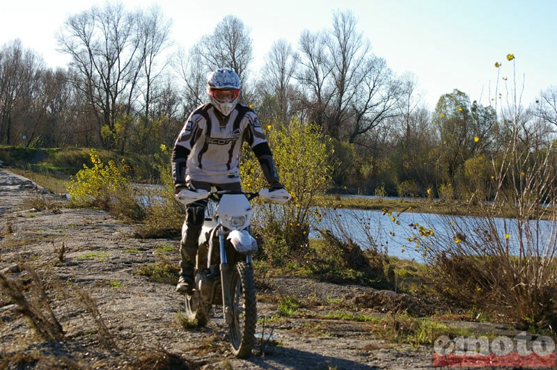 Photo de la AJP 200 PR4 Enduro modèle 2010