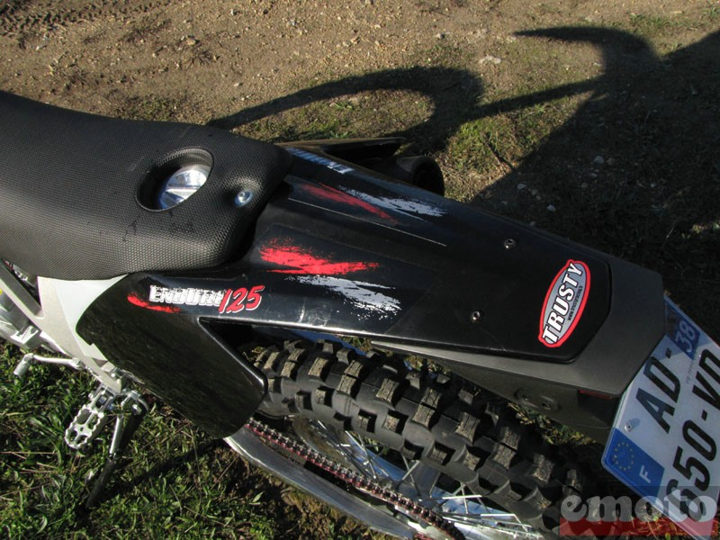 Photo de la AJP 125 PR4 Enduro modèle 2010