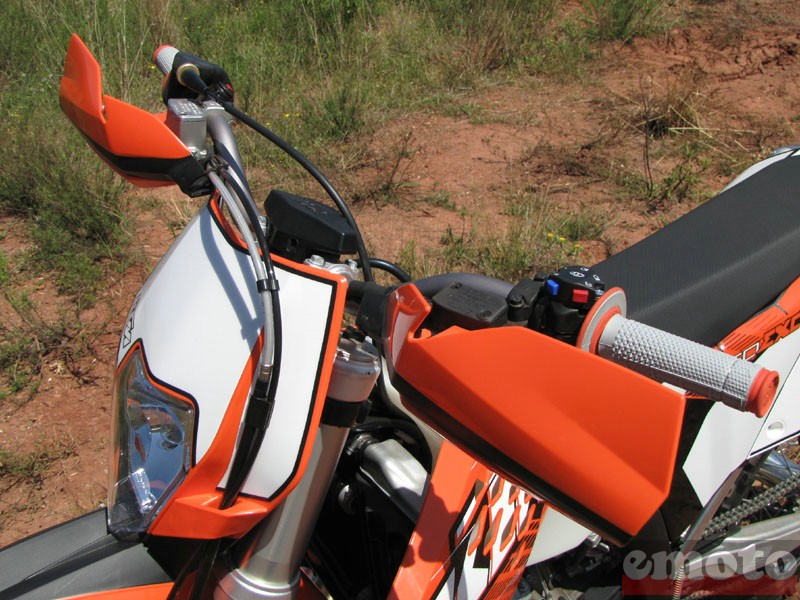 Photo de la KTM EXC 250 modèle 2011