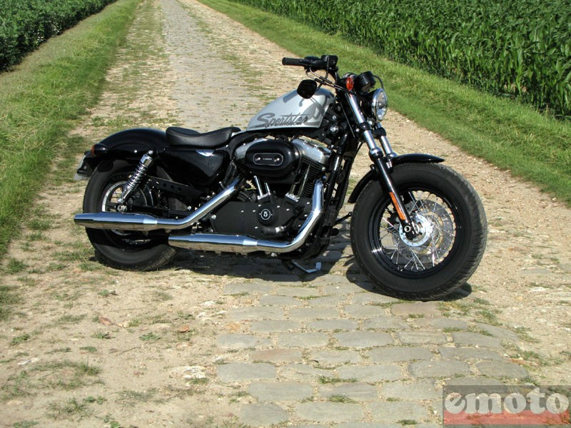 Photo de la Harley-Davidson Forty Eight modèle 2010