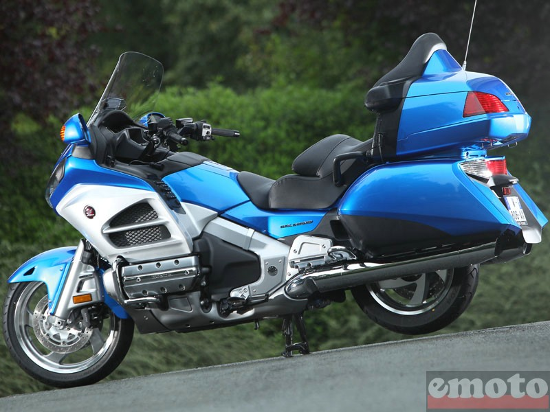 Photo de la Honda Goldwing 1800 modèle 2012