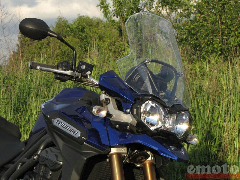 Photo de la Triumph Tiger Explorer 1200 modèle 2012