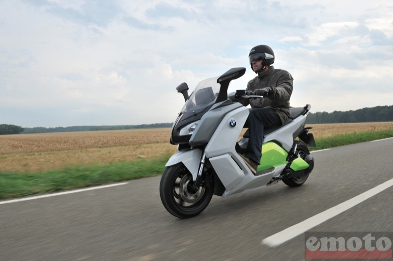 Photo du BMW C Evolution modèle 2014