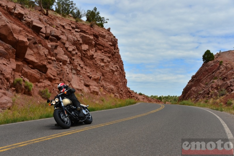 Photo de la Harley-Davidson Fat Bob modèle 2014
