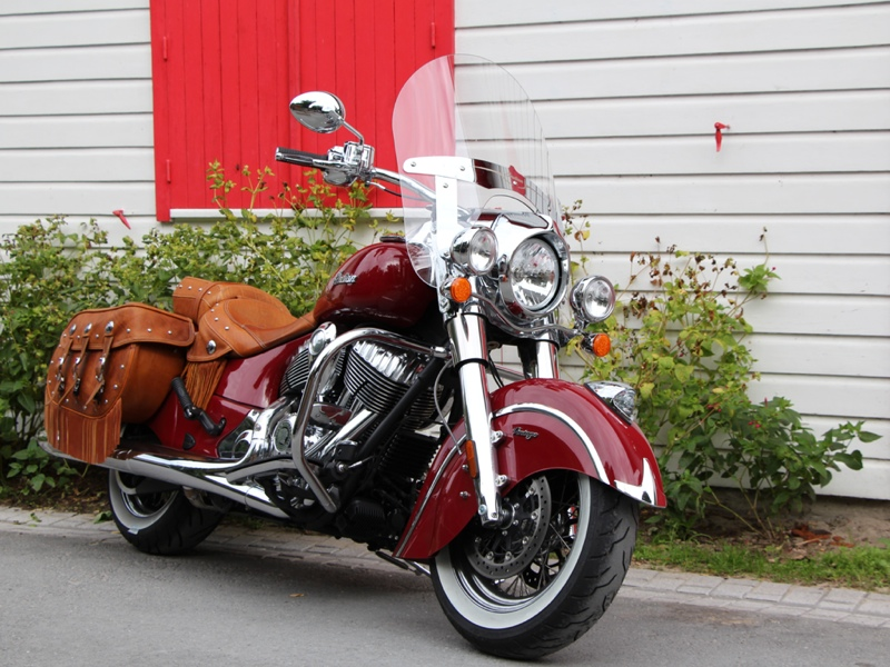 essai de la Indian Chief Vintage modèle 2014