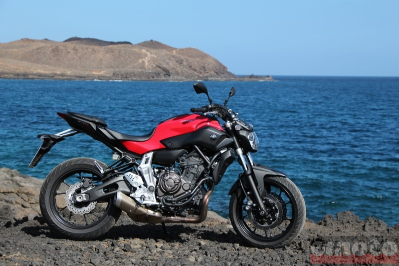 Photo de la Yamaha MT-07 modèle 2014