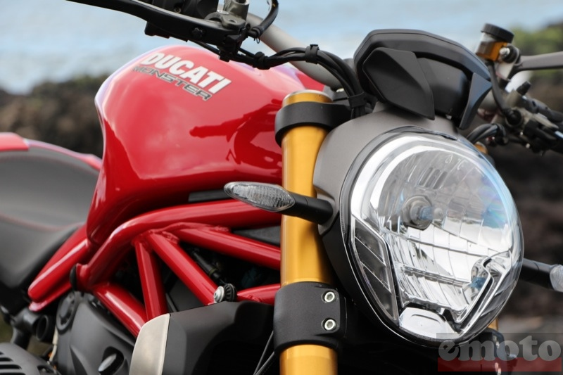 Photo de la Ducati Monster 1200 S modèle 2014