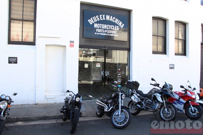 deus ex machina sydney entree de la boutique