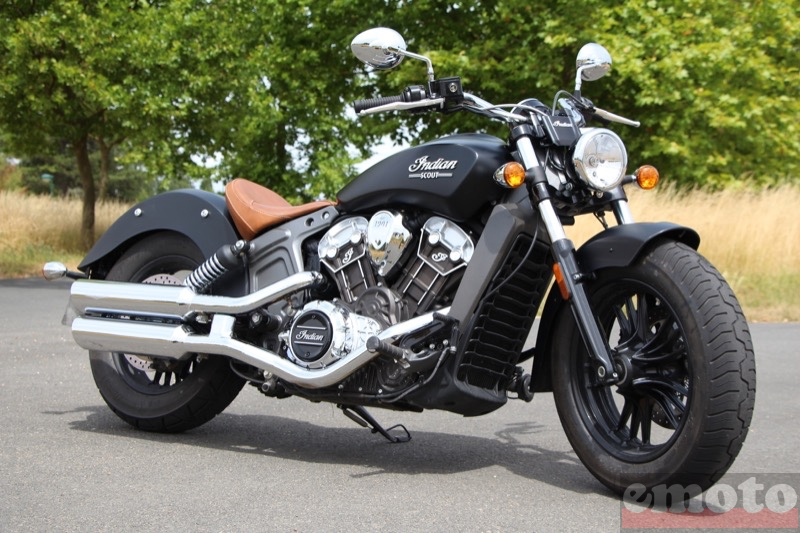 Photo de la Indian Scout modèle 2015