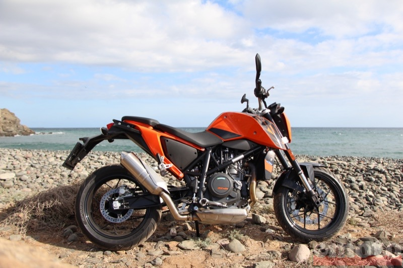 Photo de la KTM Duke 690 modèle 2016