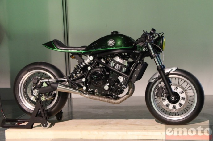 bike shed paris 2016 kawasaki er6n