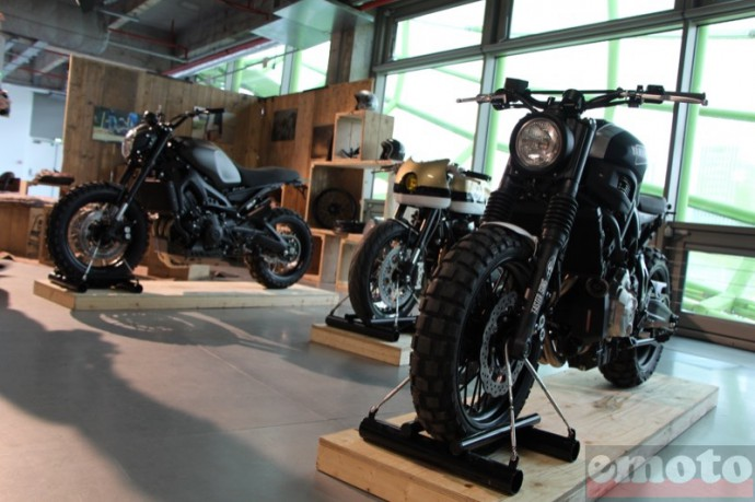 bike shed paris 2016 stand yamaha yard built