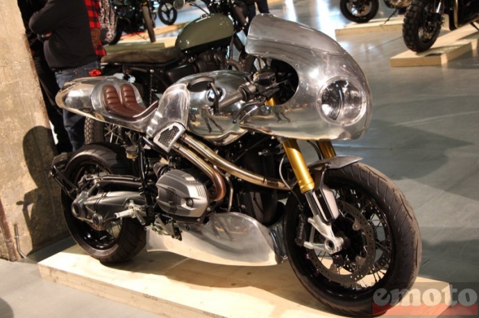 bike shed paris 2016 sur base de bmw ninet