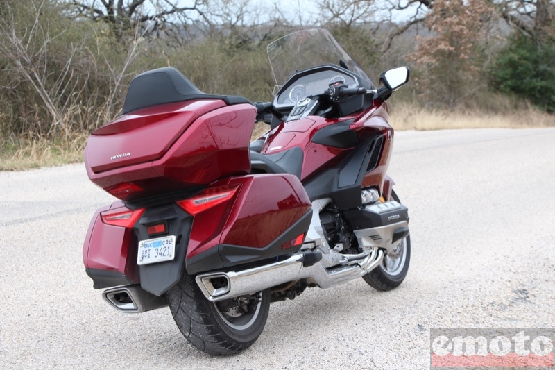 Photo de la Honda Goldwing Tour 1800 DCT modèle 2018