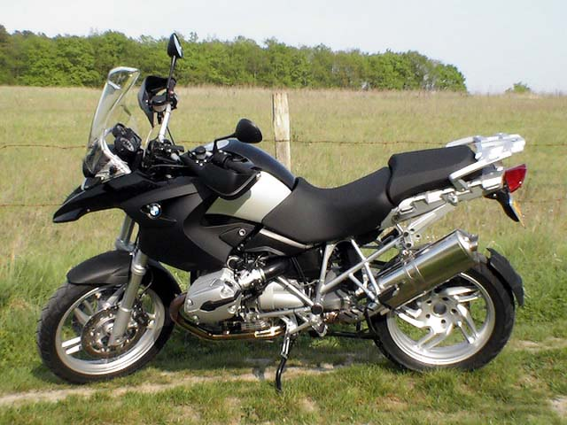 Photo de la BMW R 1200 GS modèle 2007
