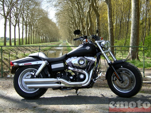 Photo de la Harley-Davidson Fat Bob modèle 2008