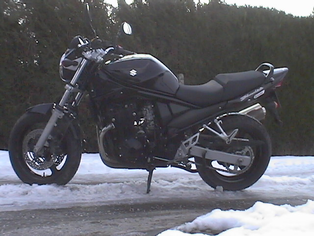Photo de la Suzuki Bandit 650 modèle 2005