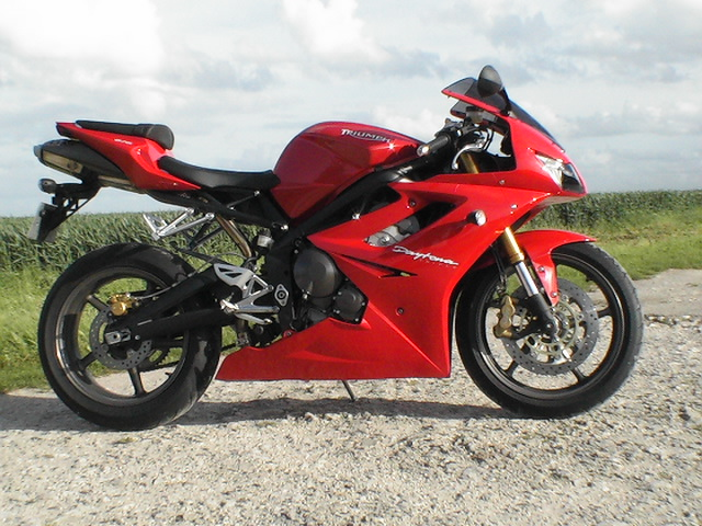 Photo de la Triumph Daytona 675 modèle 2006