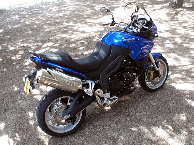 Photo de la Triumph Tiger 1050 ABS modèle 2007