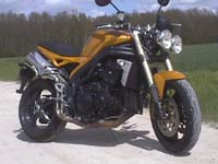 photo Triumph Speed Triple 1050