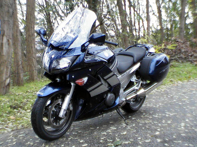 Photo de la Yamaha FJR 1300 AS modèle 2007