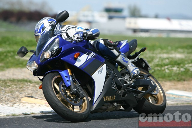 Photo de la Yamaha R1 modèle 2007