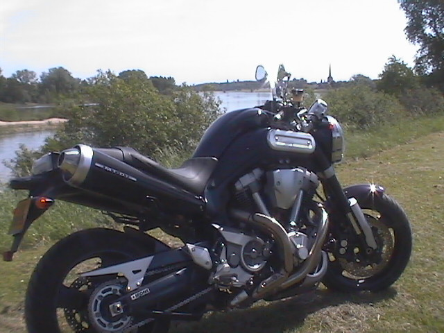 Photo de la Yamaha MT01 modèle 2005
