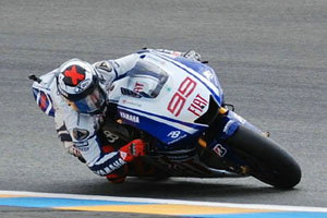 grand prix de france 2009 course motogp jorge lorenzo